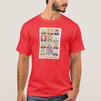 12 russische Komponisten T-Shirt