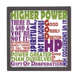 12 Schritt-höherer Power Kiste