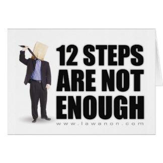 """""""12 Schritte"""" Notecards für die Wiederherstellung Karte"""