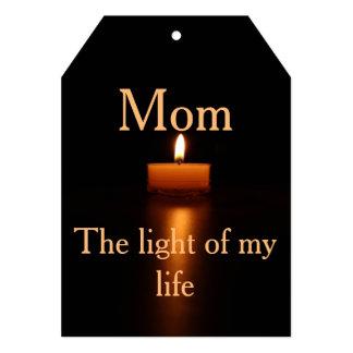 12x18 Einladungs-Klammer für Ihre Mutter Karte