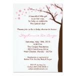12x18 Kirschblüten-Baum-Baby-Duschen-Einladung 12,7 X 17,8 Cm Einladungskarte