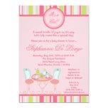 12x18 Trendy Chic-Tee-Party-Baby-Duschen-Einladung 12,7 X 17,8 Cm Einladungskarte