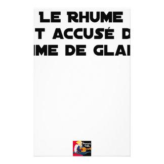 1308123_15421939_Le Rhume wird wegen des Briefpapier