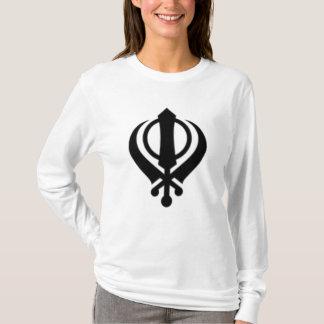 130px-Khanda1_svg T-Shirt