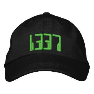 1337 BESTICKTE KAPPE