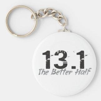 13,1 Die bessere Hälfte - Halbmarathon-Läufer Schlüsselanhänger