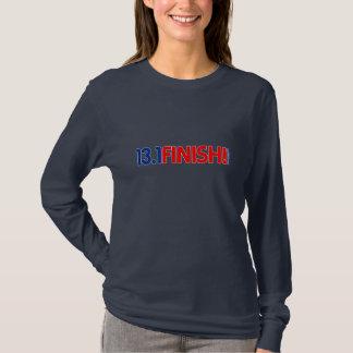 13,1 ENDE! Damen-lange Hülse angepasst T-Shirt