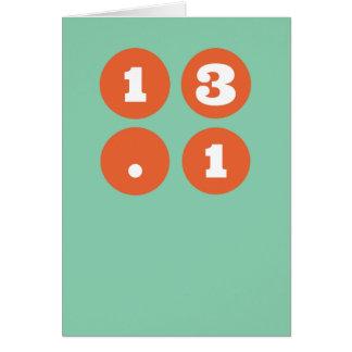 13,1 Halbmarathon Karte