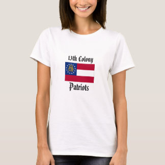 13. Kolonien-Patrioten - Frauen angepasst T-Shirt