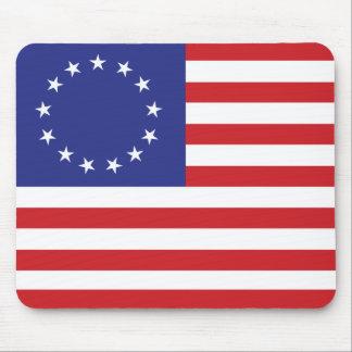 13-Star US Flagge Mousepad
