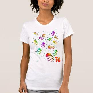 13 vibrierende Quallen - Frauen (weiß) T-Shirt