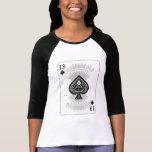 13 von Spaten: Spielkarte: Poker-schwarzer Jack