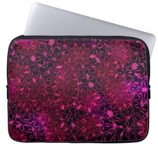 13-Zoll-Retro Blumen Laptopschutzhülle