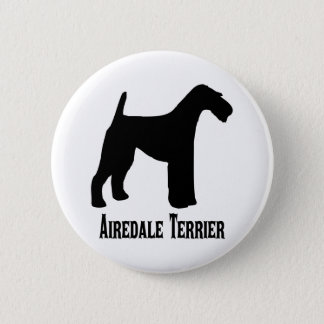 1415112006 Airedale Terrier (Animales) Runder Button 5,1 Cm