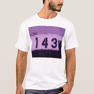 143 = i-Liebe Sie T-Shirt