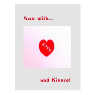 14. Februar Valentinsgruß-Postkarte Postkarten