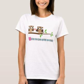 14. Hochzeitstag-Eulen T-Shirt