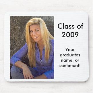 14, Klasse von 2009, Ihr Absolventname oder gesend Mousepads