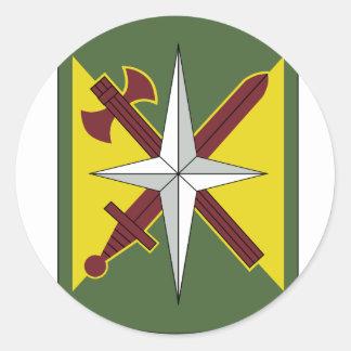 14. Militärpolizei-Brigade Runder Aufkleber