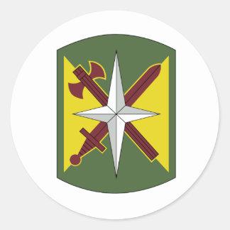 14. Militärpolizei-Brigade Runde Aufkleber