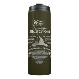 150. Jahr-Jubiläum GREY-DARK Matterhorns Thermosbecher