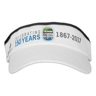 150. Jahrestag Redwood City Visor