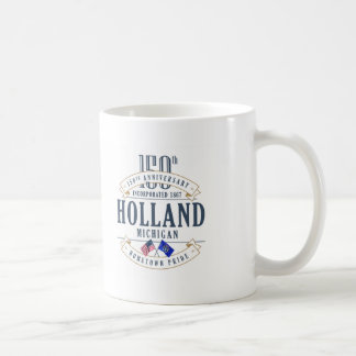 150. Jahrestags-Tasse Hollands, Michigan Kaffeetasse
