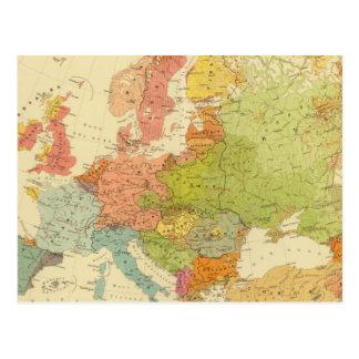 1516 europäische ethnographische postkarte