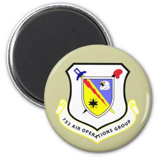 152nd Luft-Operations-Gruppe Runder Magnet 5,7 Cm