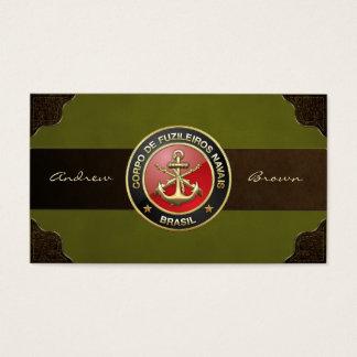 [154] Corpo De Fuzileiros Navais [Brasilien] (CFN) Visitenkarte