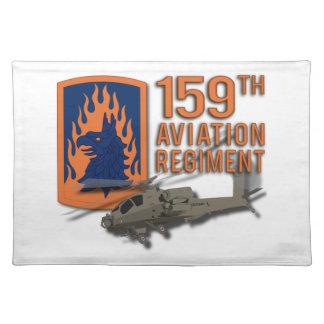159. Luftfahrt - Apache Tischset