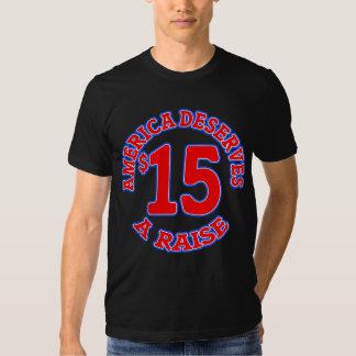 15 ein STUNDE Mindestlohn T Shirts