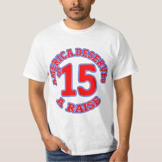 15 ein STUNDE Mindestlohn Tshirts
