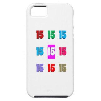 15. fünfzehntes Geburtstagsjahrestags-Straßendatum iPhone 5 Cover
