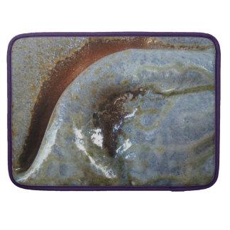 "15"" MacBoookPro - abstrakte Lehmfalte mit MacBook Pro Sleeves"