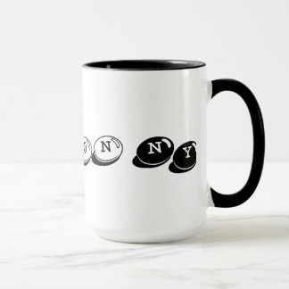 15 Unze. Der Hudson, NY Wecker-Tasse Tasse