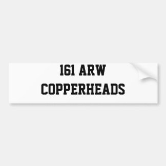 161 ARW   COPPERHEADS AUTOAUFKLEBER