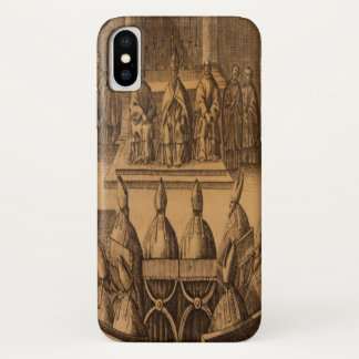 1651 Zeremoniell Episcoporum Papst Clement VIII iPhone X Hülle