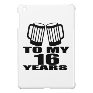 16 Beifall zu meinem Geburtstag iPad Mini Hülle