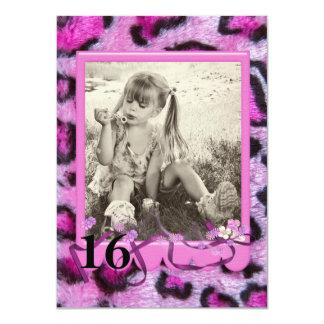 16. Geburtstag 11,4 X 15,9 Cm Einladungskarte