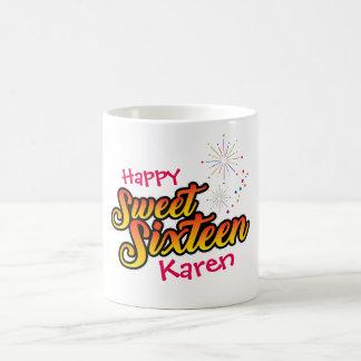 16. Geburtstag-Geburtstag Kaffeetasse