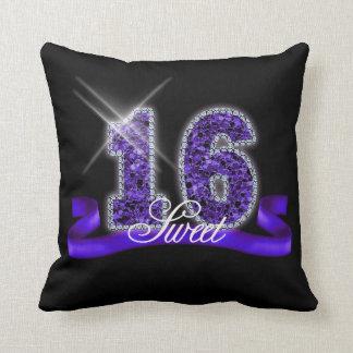 16. Geburtstag-Schein lila ID119 Kissen