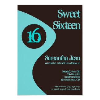 16. Geburtstags-Party Einladungen 16. Geburtstag 11,4 X 15,9 Cm Einladungskarte