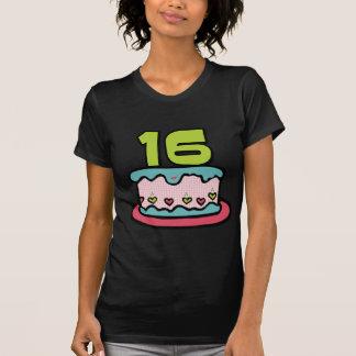 16 Jährig-Geburtstags-Kuchen T-Shirt
