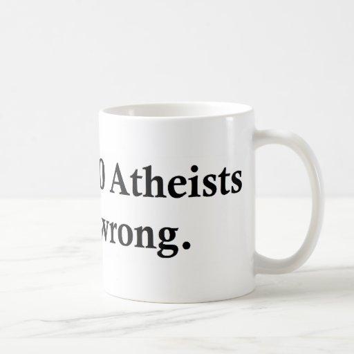 172.000.000 Atheisten Teetasse