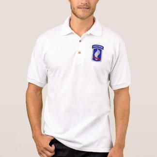173rd ABN im Flugzeug Brigaden-Veteranentierärzte Polo Shirt