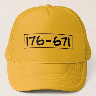 176-671 TRUCKERKAPPE