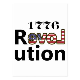 """1776 """"Liebe USA-"""" Umdrehung Postkarten"""