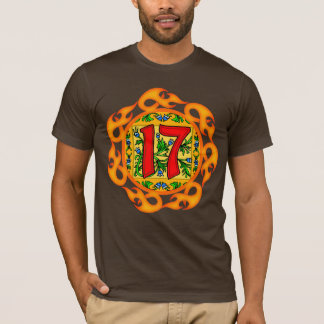 17. Geburtstags-Geschenk-T-Shirt T-Shirt