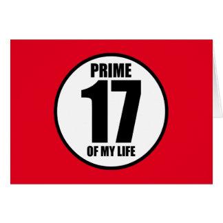17 - höchste Vollkommenheit meines Lebens Karte